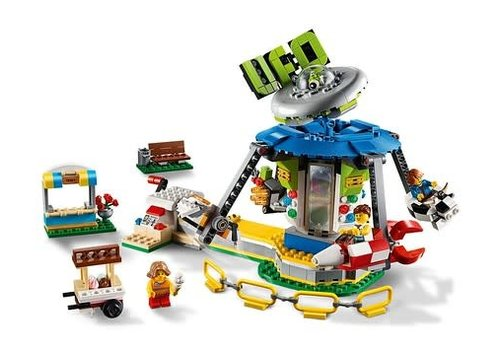 Lego Le caroussel du parc d'amusement