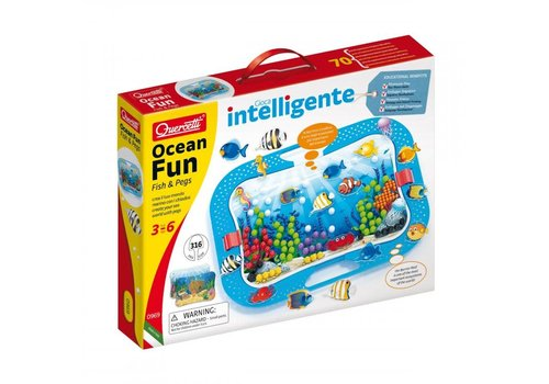 Quercetti OCEAN FUN - FISH & PEGS