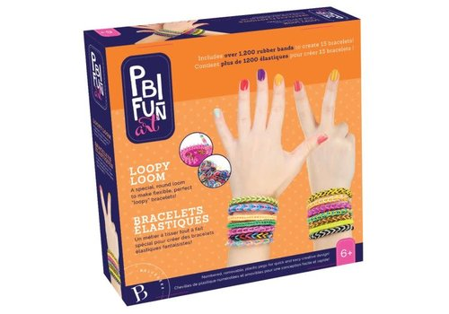PBI Fun Art BRACELET ÉLASTIQUE LOOPY LOOM
