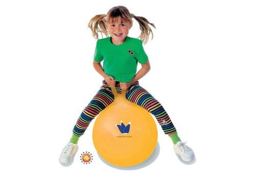 Ledra Plastic Ballon sauteur HOP 45:JAUNE
