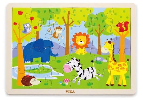 viga PUZZLE 24 PCS SAFARI