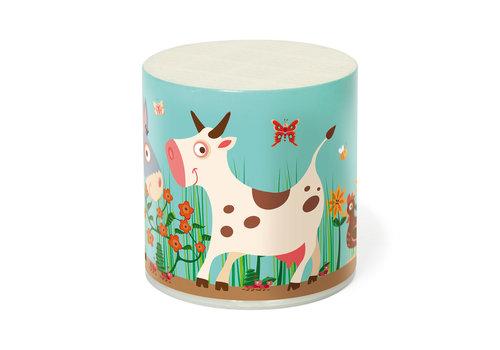 Scratch Boîte Meuh vache Marie Rétro