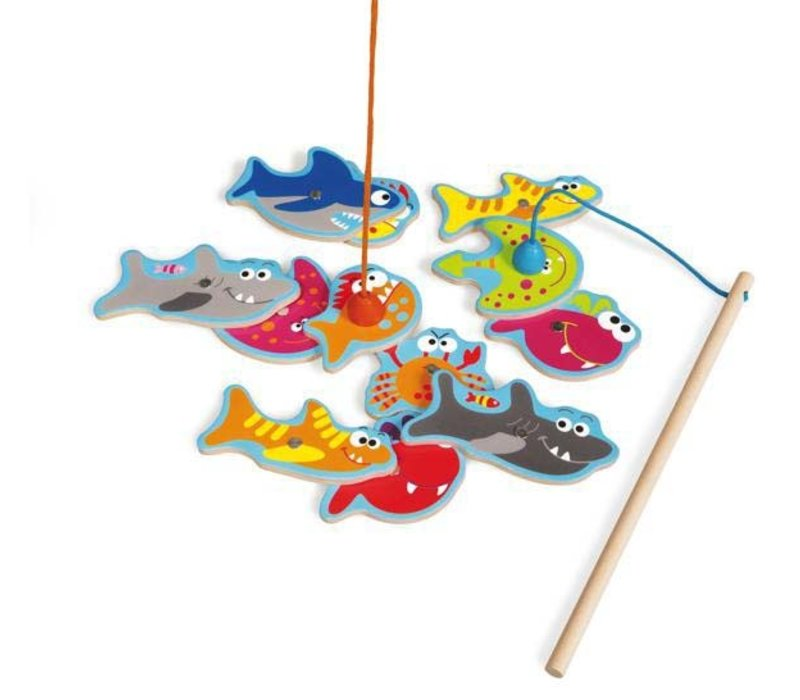 Jeu de pêche poissons dangereux