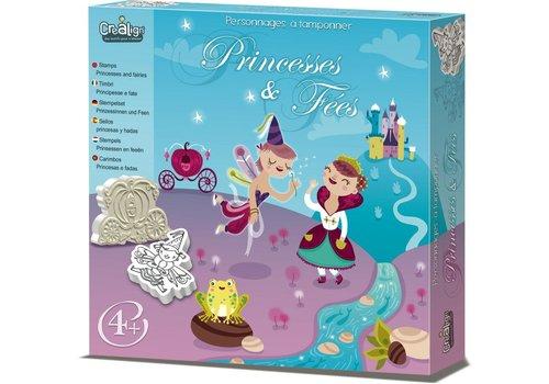 crealign Tampons Mouss'- Princesses et fées
