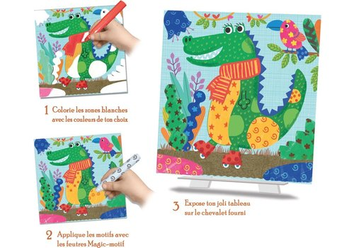 crealign Coloriage magique Facile - Les Animocolo