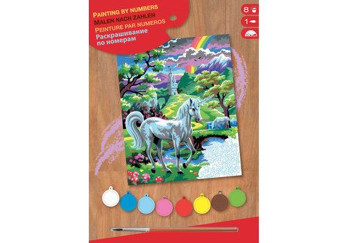 Peinture à numéro junior Licorne