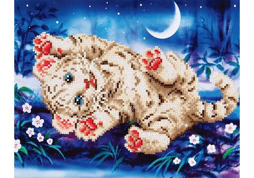 Diamond Dotz Diamond Dotz - Baby Tiger Roly Poly