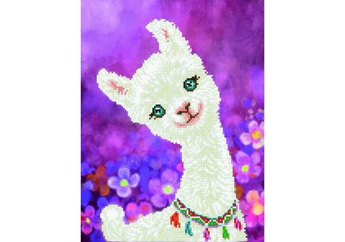 Diamond Dotz Lulu Llama Diamond Painting