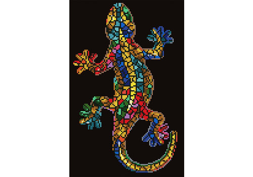 Diamond Dotz Gecko Paua Diamond Painting