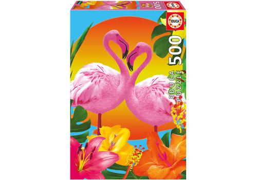 Casse-tête 500 pièces - Flamants roses