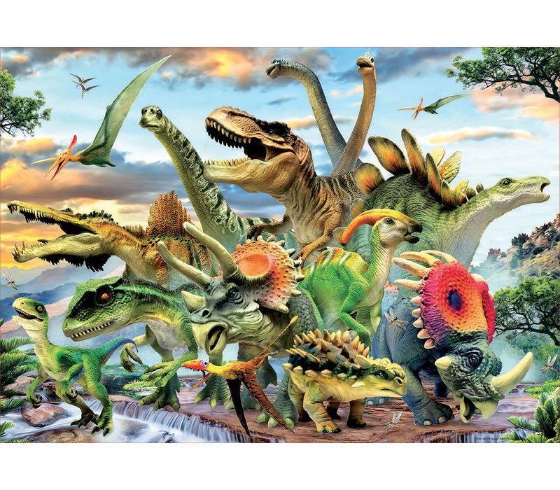 Casse-tête 500 pièces - Dinosaures
