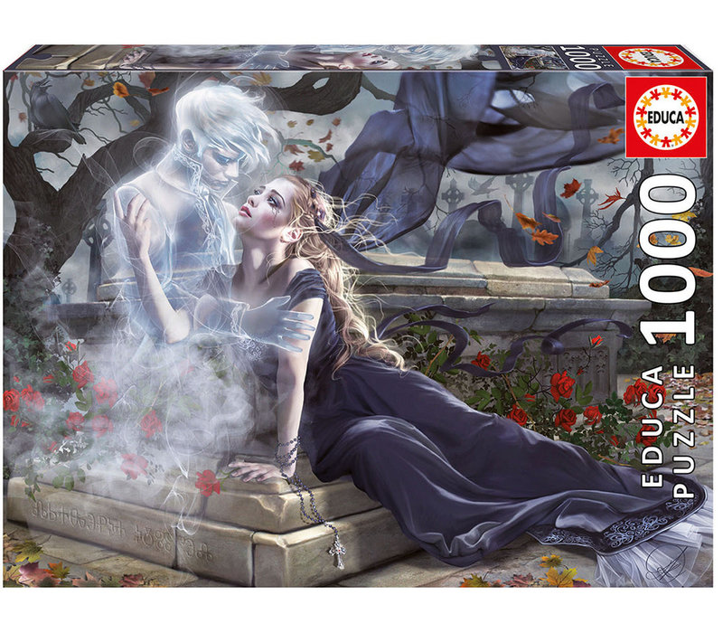 Casse-tête 1000 pièces - La mariée en noir