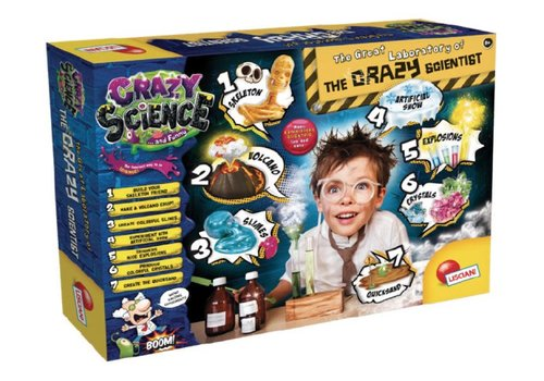 Lisciani (Giochi) Crazy Science Le Grand Laboratoire du Savant Fou Version française