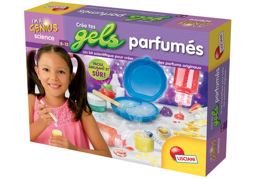 Lisciani (Giochi) I'm a genius Crée tes gels parfumés