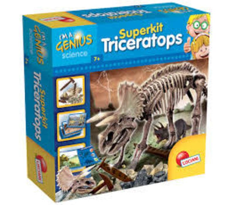 I'm a genius Superkit Triceratop