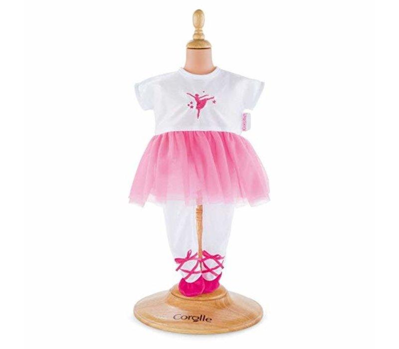 Combinaison Ballerine Fuschia pour poupée 36cm