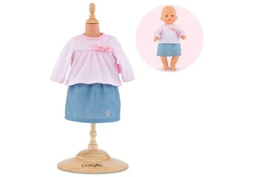 Corolle Robe et jupe pour poupée 36 cm