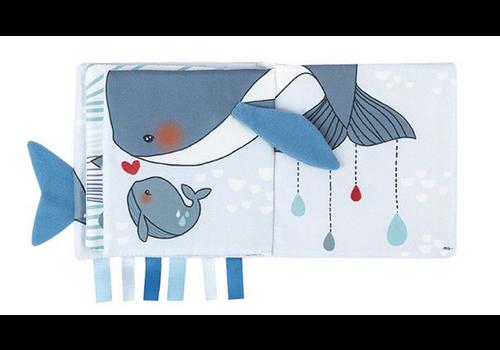 Kaloo Livre d'éveil Baleine