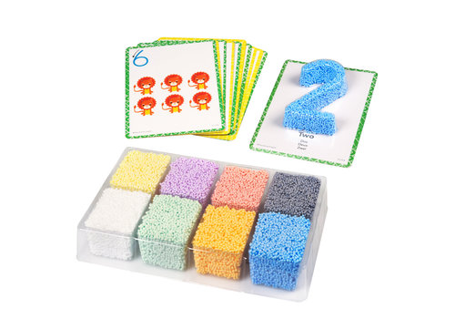 Playfoam PLAYFOAM SHAPE & LEARN NUMBERS SET