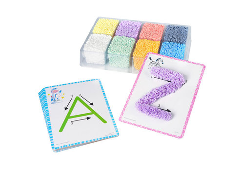 PLAYFOAM SHAPE & LEARN ALPHABET SET