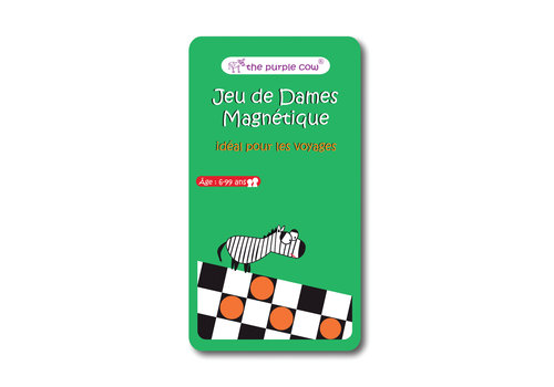 Magnetic Checkers game