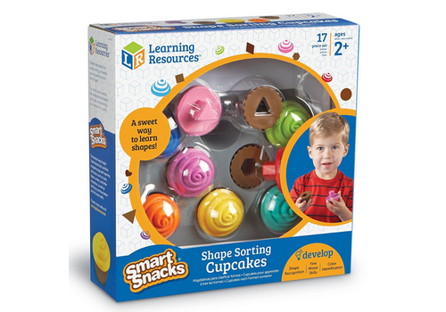 Learning Resources Smart snacks shape sorting cupcakes