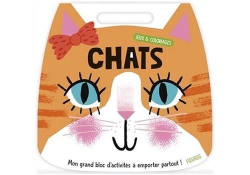 Jeux&Coloriage Chats