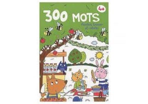 yoyo éditions 300 mots chercher, trouver et colorier 4+