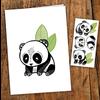 pico Carte de souhait - Les pandas sympas