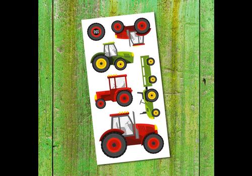 pico Tatouages temporaires - Les tracteurs
