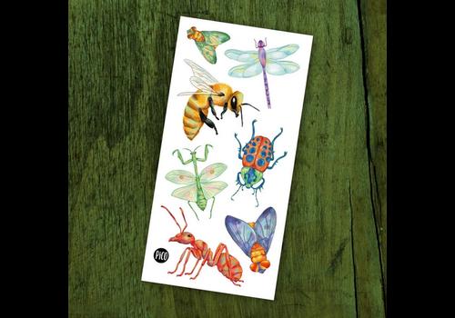 pico Tatouages temporaires - Les insectes