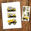 pico Carte de souhait - Camions