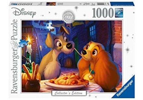 Ravensburger Disney-Lady & the Tramp La belle et le clochard 1000mcx