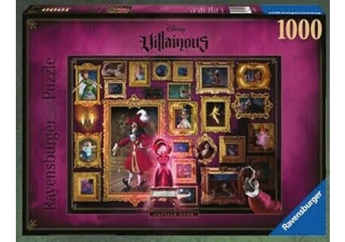 Ravensburger Villainous Captain Crochet Capitaine Crochet 1000mcx