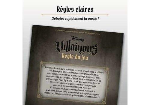 Ravensburger Jeu Disney Vilainous Français