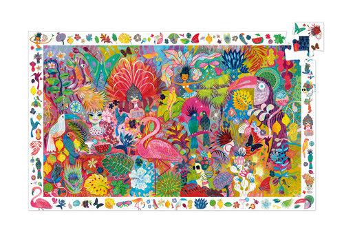 Djeco Puzzle observation / Carnaval de Rio / 200 pcs
