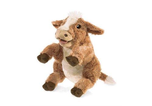 folkmanis Marionnette vache brune -  Brown Cow