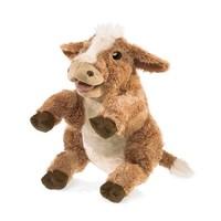 Marionnette vache brune -  Brown Cow