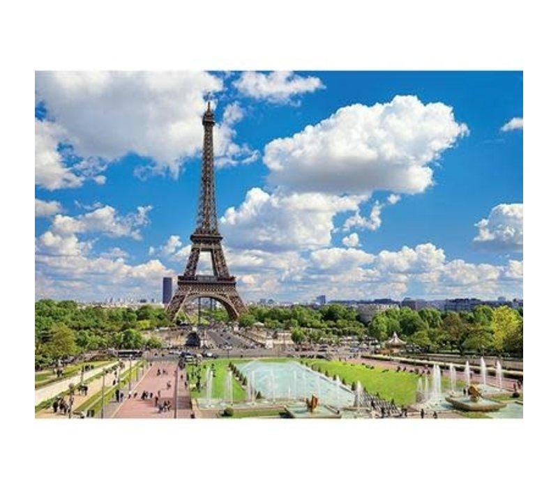1000pc, Tour Eiffel en ete, Paris