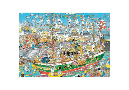 Jumbo 1000mcx, Chaos de grands voiliers, JvH