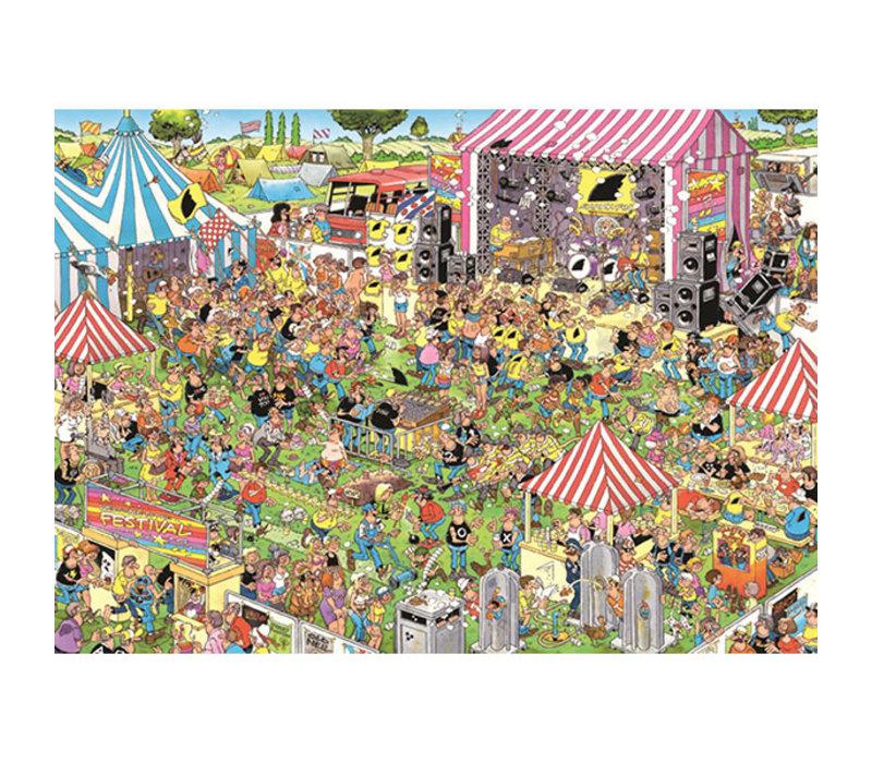 1000mcx, Festival pop, JvH