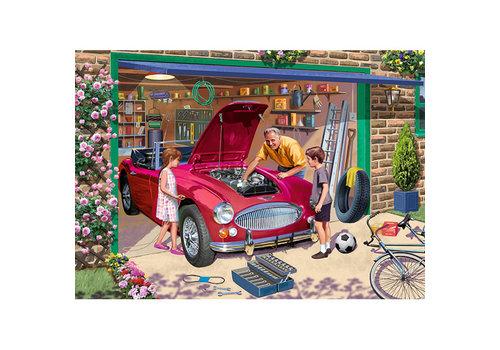 Casse-tête 500 morceaux, Grandad's garage