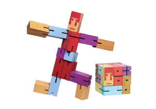 Mind Matters 18 Cubes Ro-bo dans un presentoir