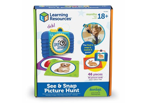 Learning Resources See & Snap Picture Hung