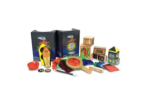 Melissa & Doug Deluxe Wooden Magic Set - Ensemble de magie deluxe