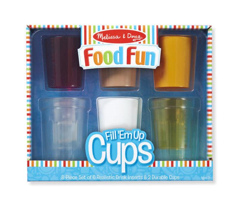 Aliments amusants- Goblets à remplir