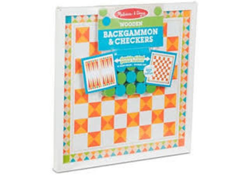 Melissa & Doug Backgammon et dames