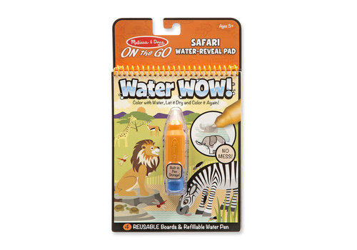 Melissa & Doug Water wow Safari - Dessins révélation à l'eau safari