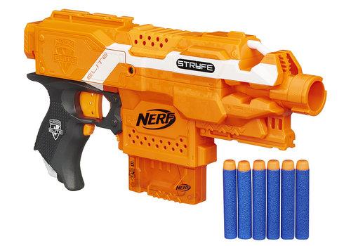 Hasbro Nerf - N-Stryke Elite Stryfe semi-automatique motorisé