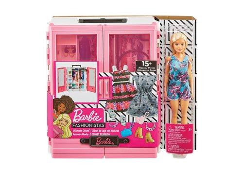 Barbie-Garde-robe ultime et poupée
